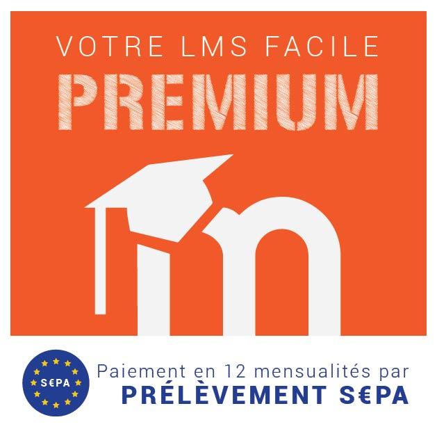 abonnement premium pay en 12 mensualit s par mandat sepa lmsfactory. Black Bedroom Furniture Sets. Home Design Ideas