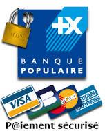 Paiement sécurisé, CB, Carte Bleue, Banque Populaire
