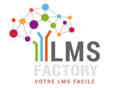 logo LMS FACTORY, Moodle, e-learning, plateforme e-learning, LMS