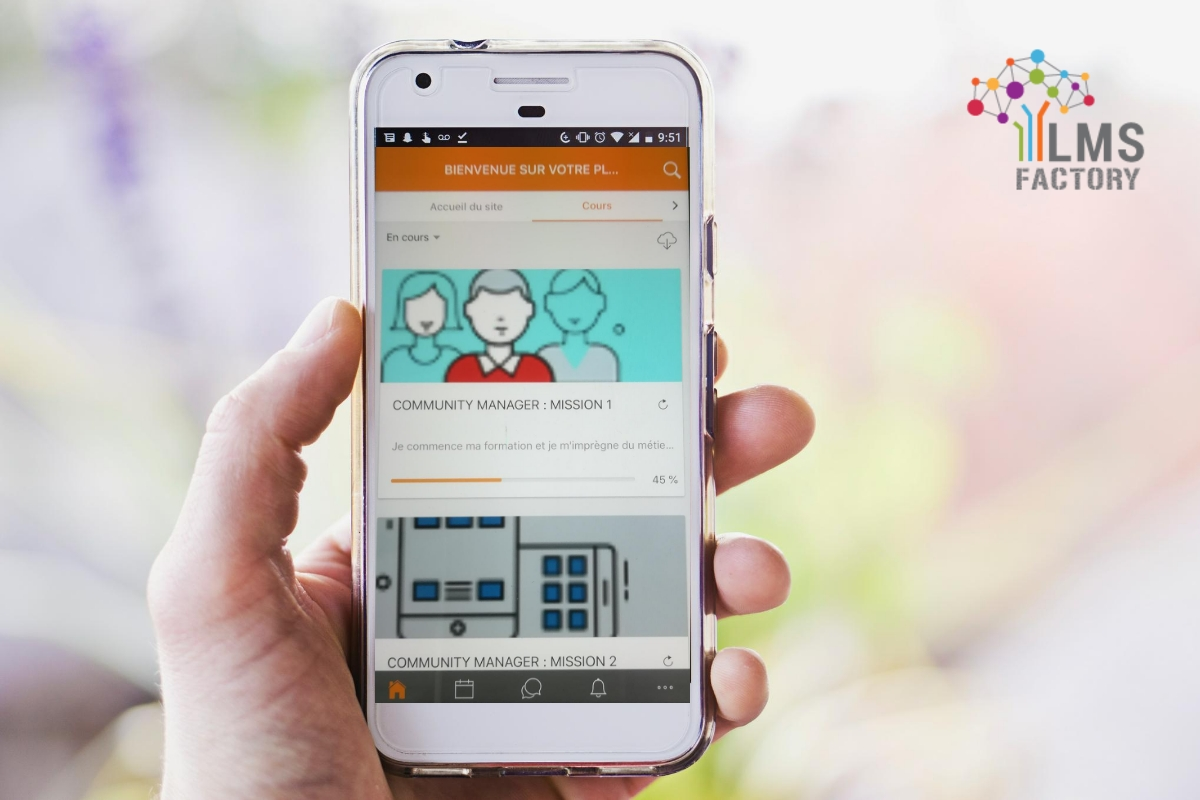 LMS FACTORY, LMS, e-learning, mobile learning, Moodle, Moodle 3.5, Moodle mobile, digital learning, plateformes e-learning, plateforme LMS