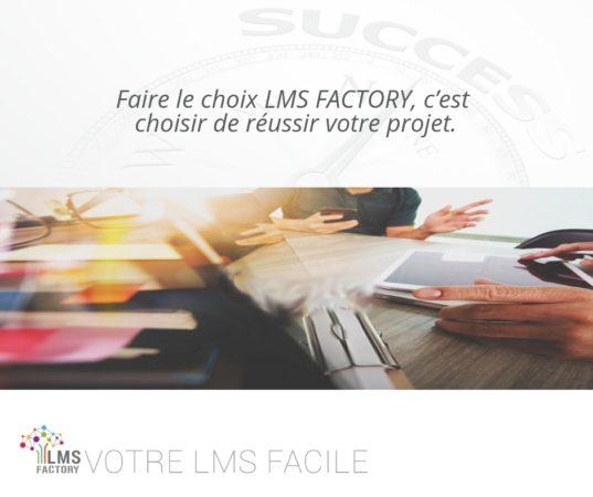 LMS FACTORY, Moodle, LMS, plateforme d'apprentissage, e-learning, digital learning, choisir son LMS, Classe virtuelle, plateforme LMS, votre LMS facile, projet LMS, réussir votre projet